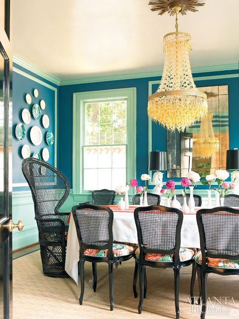 Colorful Dining Room Home Decor Dining Room Colors Dining Room Design House Of Chic