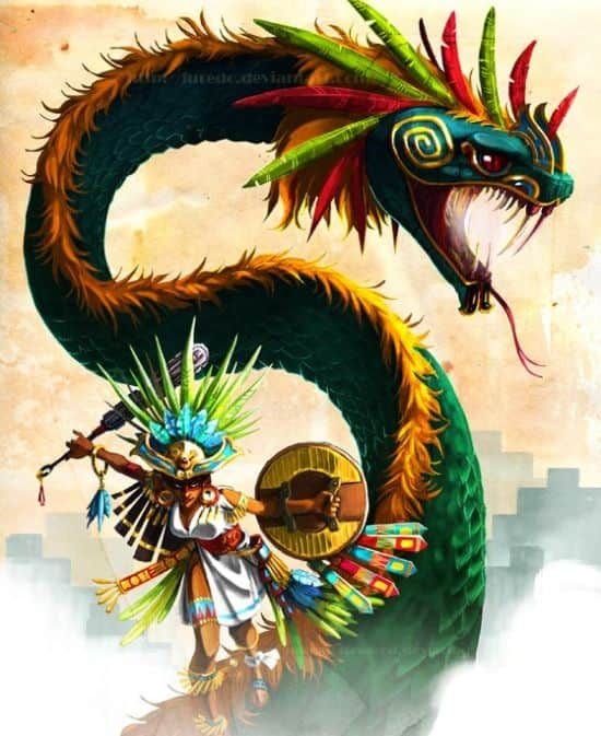 Quetzalcoatl: History and Mythology of the 'Feathered Serpent' God #aztec
