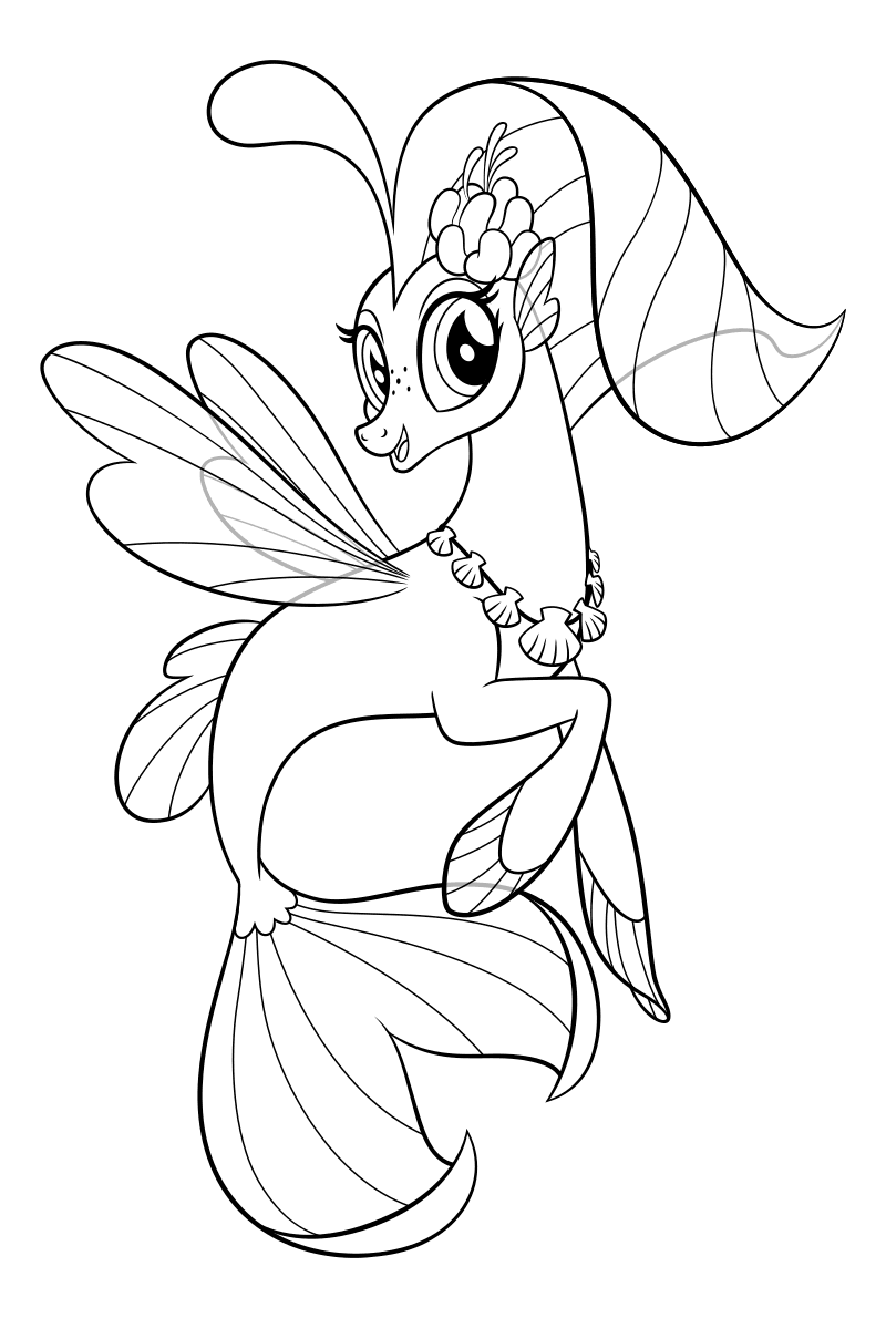 My Little Pony Coloring Image By Hope Ashford Corona On Color For
