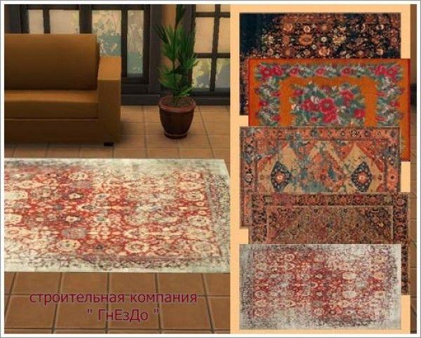 bohemian sims 4: more bohemian rugs   bohoindustrial sims 4