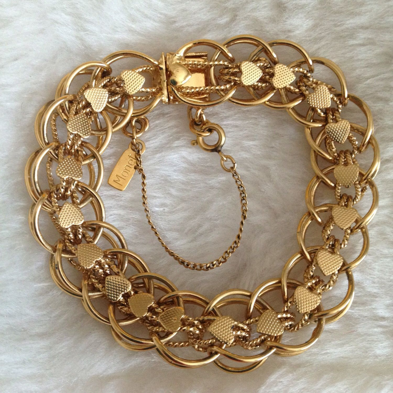 Charm Bracelets Gold: Pin By NeonCrackel On Vintage Jewelry Favs