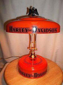 Harley Davidson Table Lamp   Look At This David!