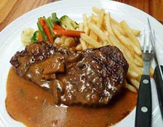 Cara Membuat Steak Daging Sapi Rumahan Resep Steak Daging Sapi Saus Barbeque Cara Membuat Sapi Panggang Sapi Crispy Resep Steak Resep Masakan Sehat Makan Malam