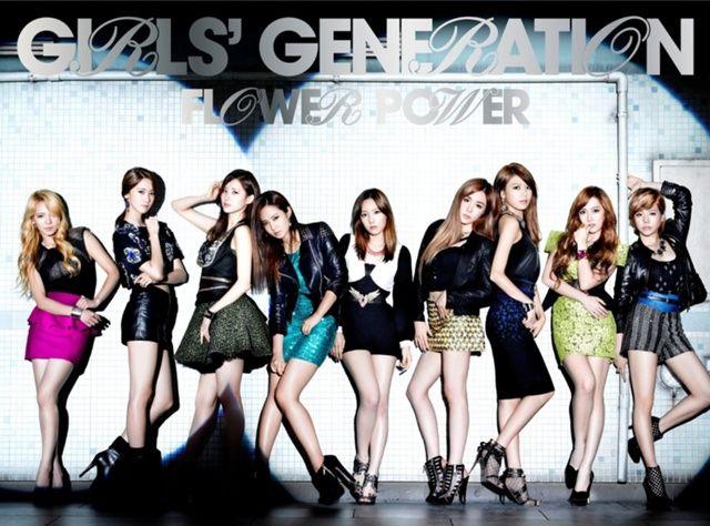 Girls' Generation Flower Power