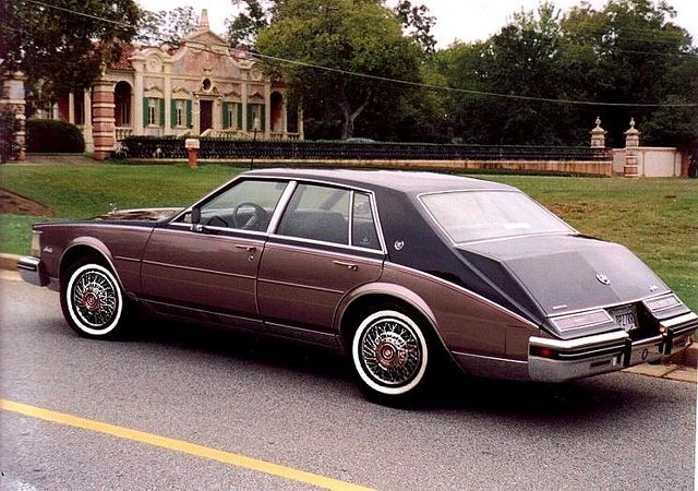 1984 Cadillac Seville - they perfected it this model year.fixed the