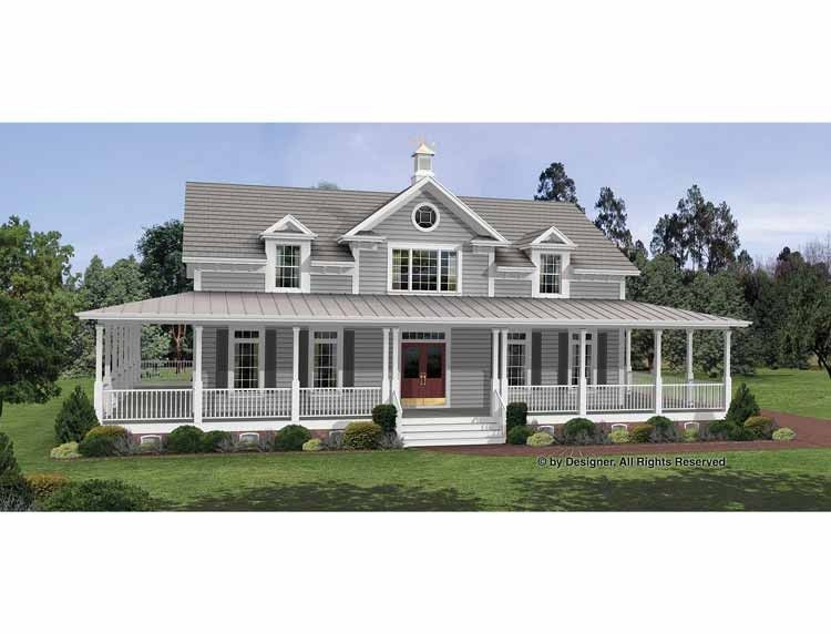 Eplans Colonial House Plan - Irresistible Wraparound Porch ... on colonial home exteriors, ranch homes with porches, colonial saltbox house plans, colonial ranch style house plans, colonial house plans with dormers, colonial house front portico, colonial house plans with attached barn, colonial house plans with open floor plans, colonial cape cod style house plans, colonial house designs, colonial revival floor plans of houses, colonial style home,