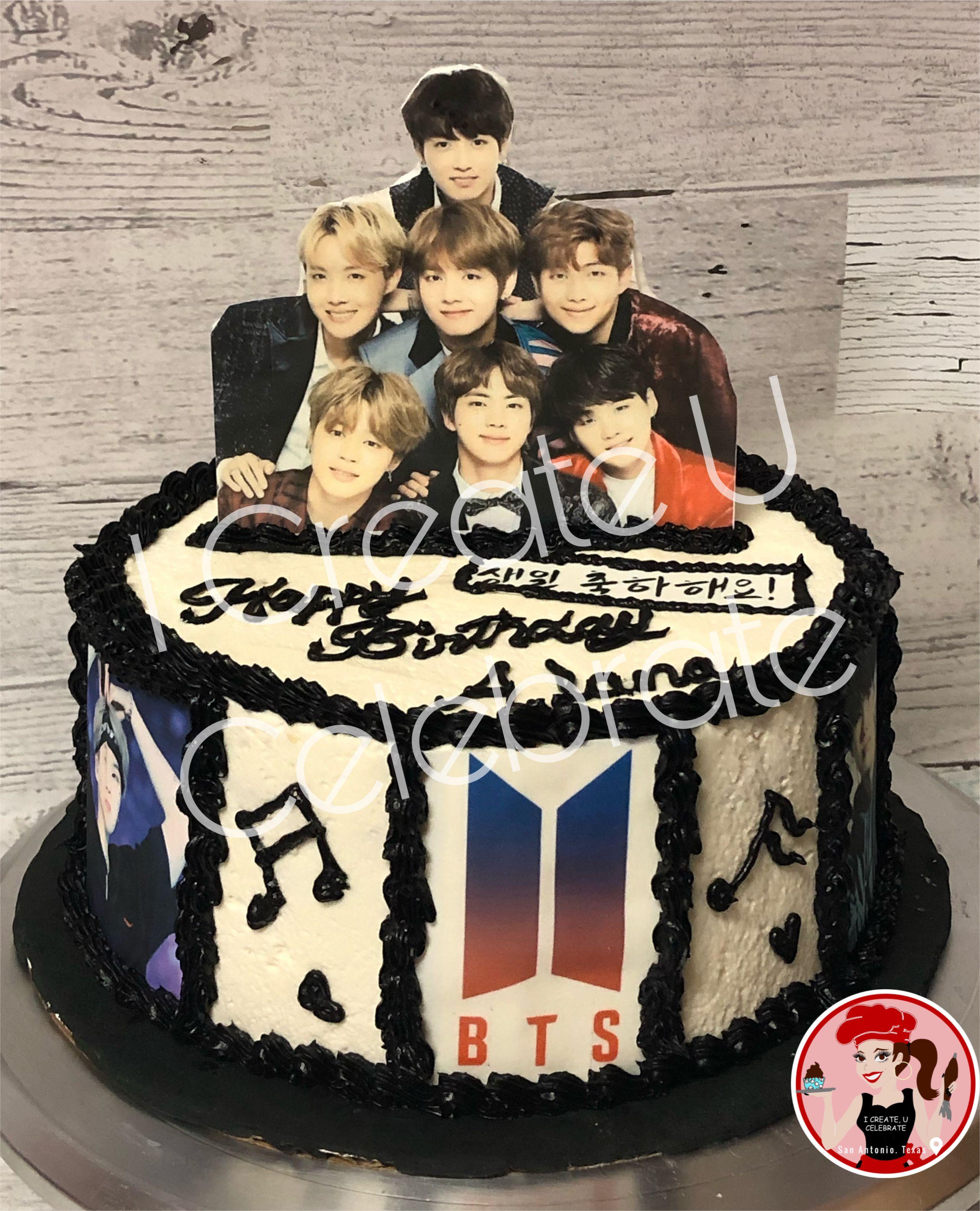 Bts Cake Bts Cake Gorgeous Cakes Cake