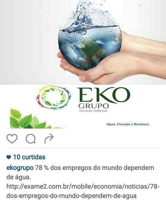 EKO GRUPO especializado em inovação ambiental para água energia e resíduos. Inovando Sempre! ! Belo Horizonte #ekogrupo #tecnotri #sanecom #genesisenergia #inovarambietal #meioambiente #ekomarket #sustentabilidade #água #energia #resíduos #soluçõescompletas #3rs #reduza #reutilize #recicle #ekomarket #networking by ekogrupo http://ift.tt/1VhQciQ