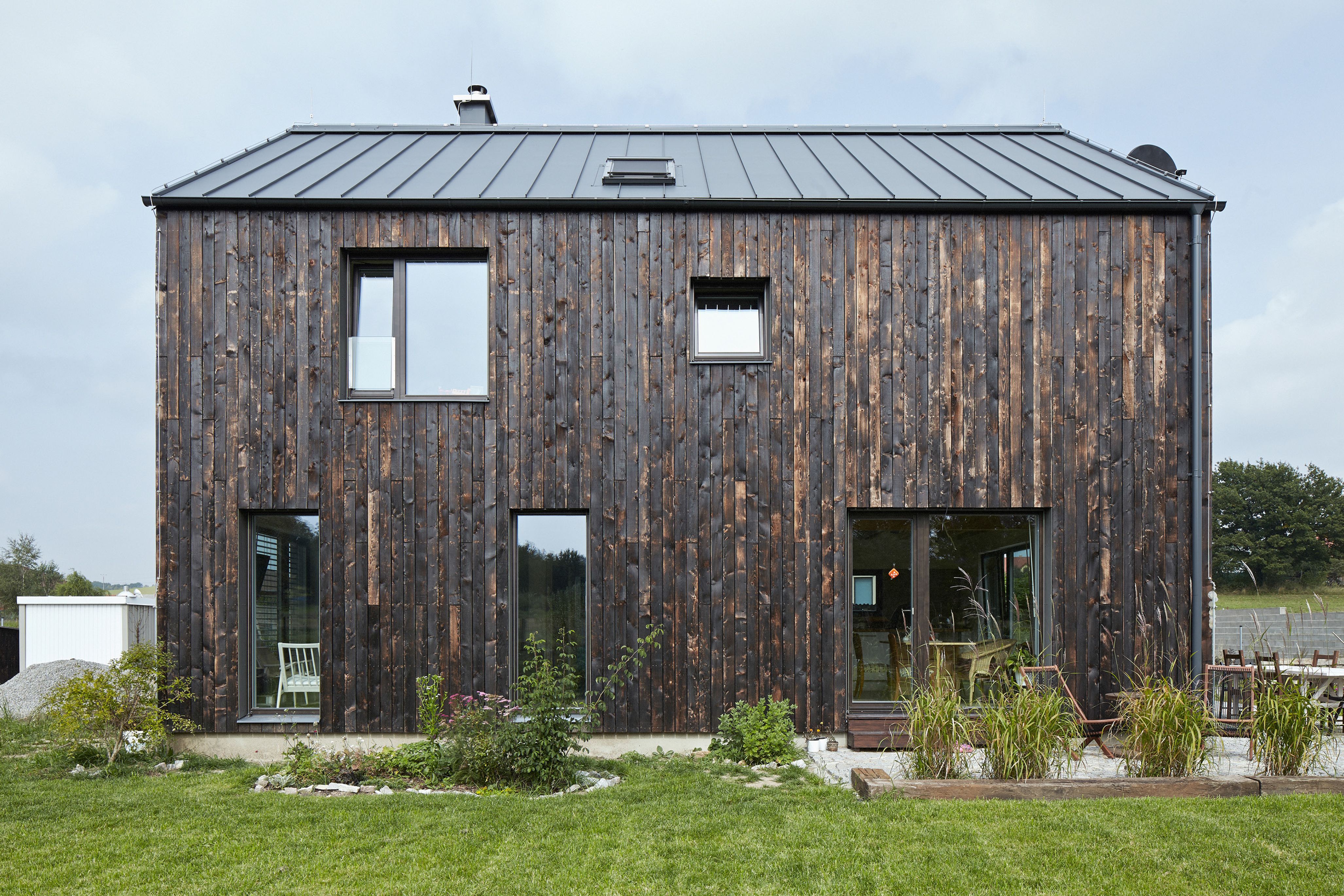 Shou Sugi Ban Five Charred Timber Facades Phaidon Atlas The Interior Has A  Palette Of White. Shou Sugi Ban Five Charred Timber Facades Phaidon Atlas The