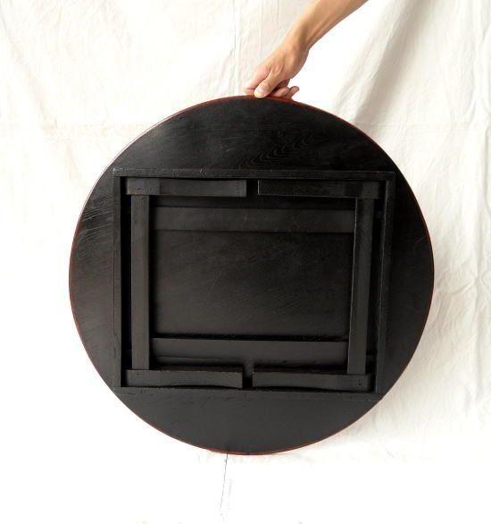 Traditional Japanese Small Room Interior Design: 卓袱台 Chabudai: Japanese Traditional Small Table, Underside