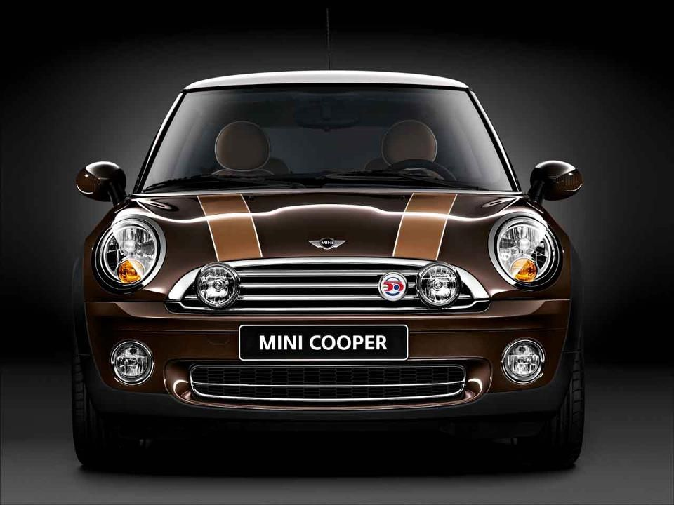 An exclusive design model to remember,  the MINI 50 Mayfair, September 2009.