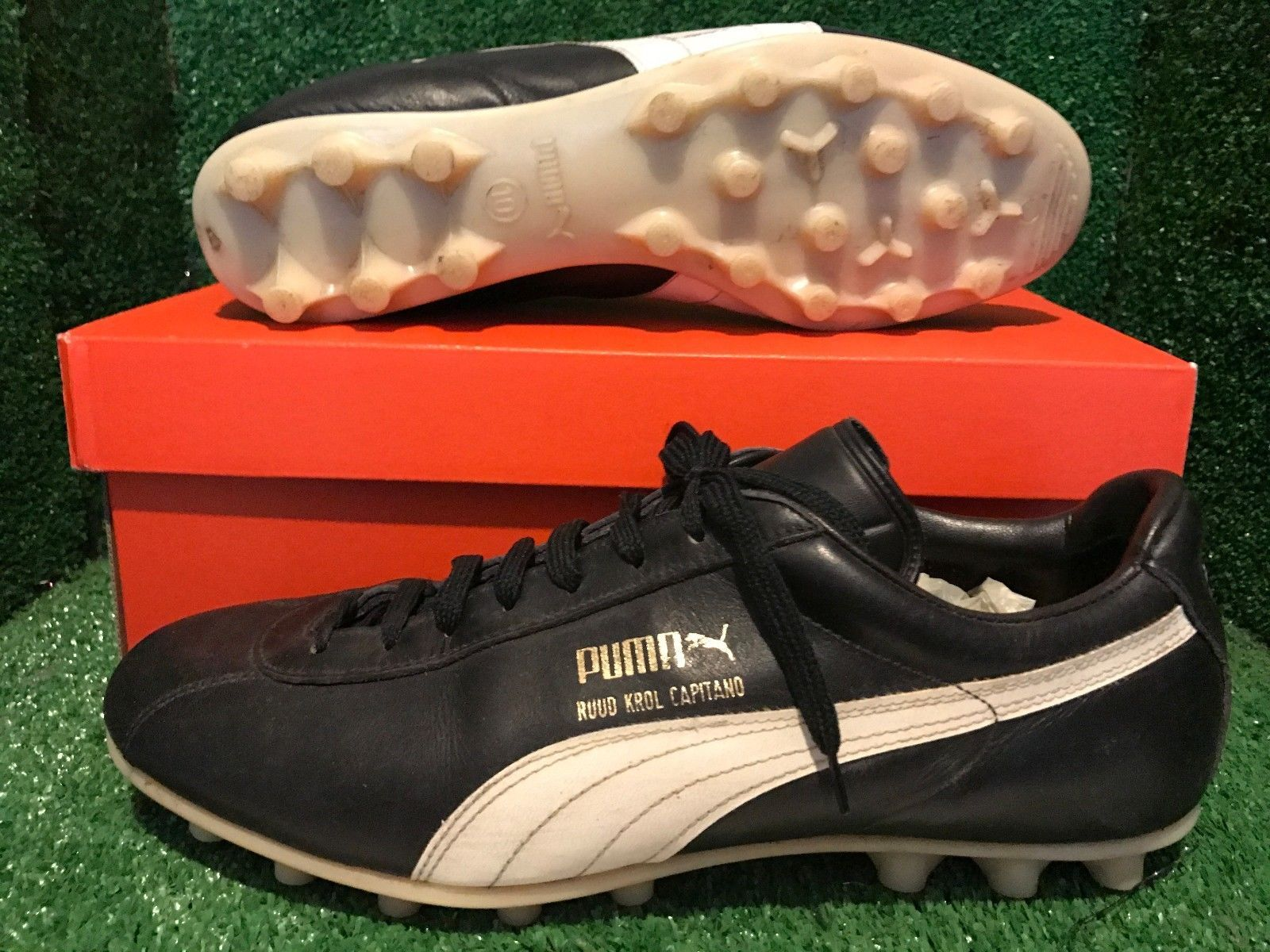 e3639fa6f1 vintage puma shoes boots PUMA Ruud Krol soccer boots maradona WC Adidas 10  9 44