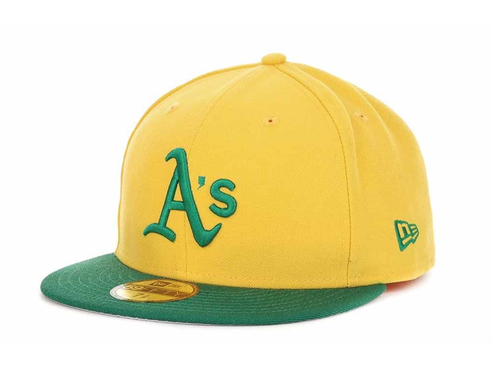 Oakland Athletics New Era 59Fifty MLB Cooperstown New Era 59fifty a16bcf140a0a