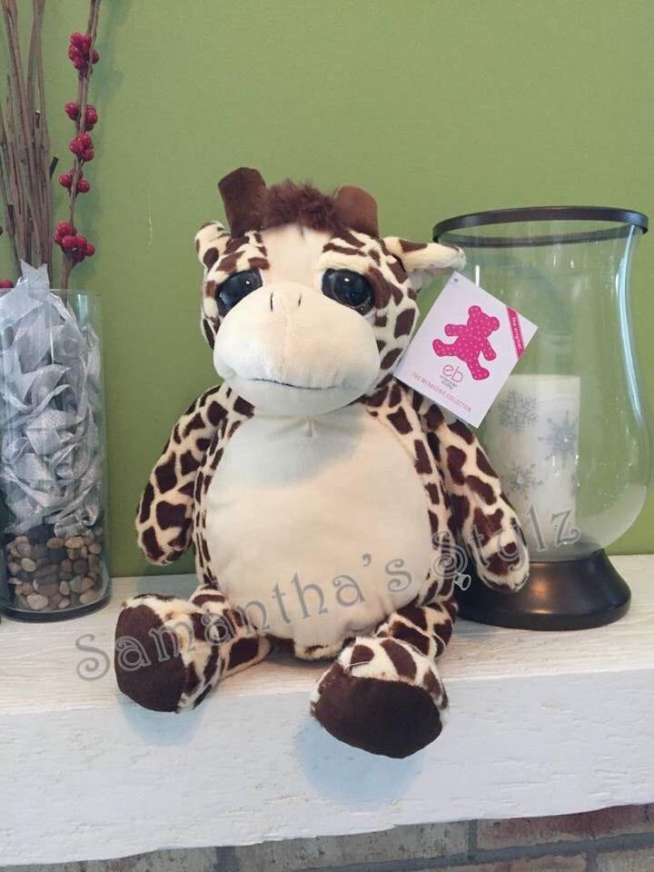 Personalized stuffed giraffe plush giraffe personalized stuffed personalized stuffed giraffe plush giraffe personalized stuffed animal custom baby gift adoption negle Gallery