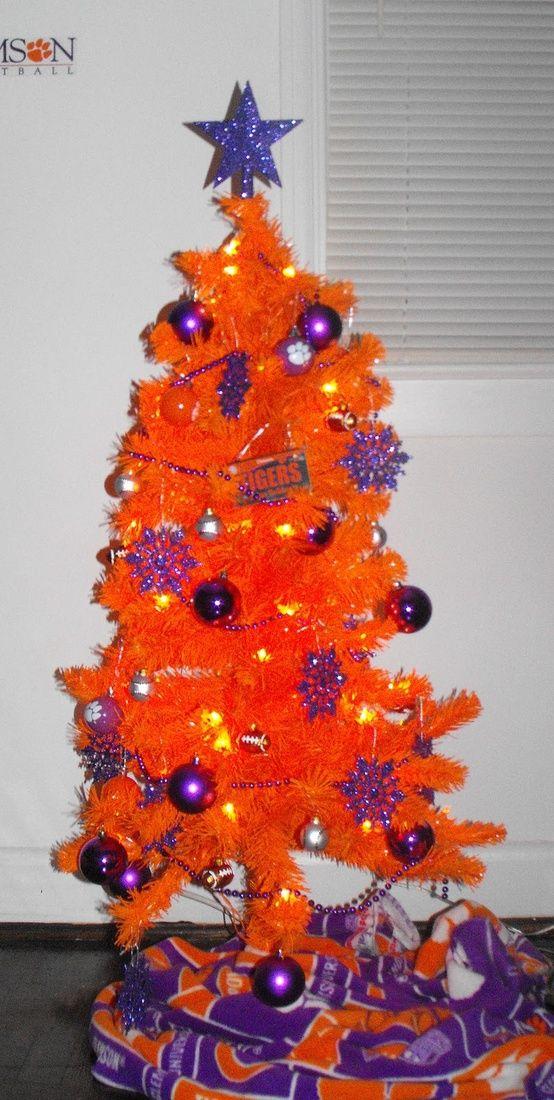 orange christmas tree My style ) Pinterest Orange christmas