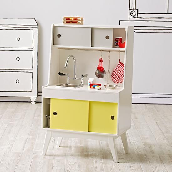 Future Foodie Play Kitchen Sink | The Land of Nod | Kids ...
