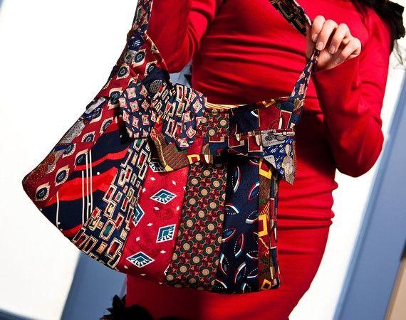 Tie Bag!! I wish I knew how to sew...