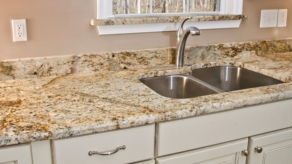 River Yellow Granite Countertop For Prefab Granite Countertops Prefab Granite Granite Countertops Kitchen White Granite Countertops