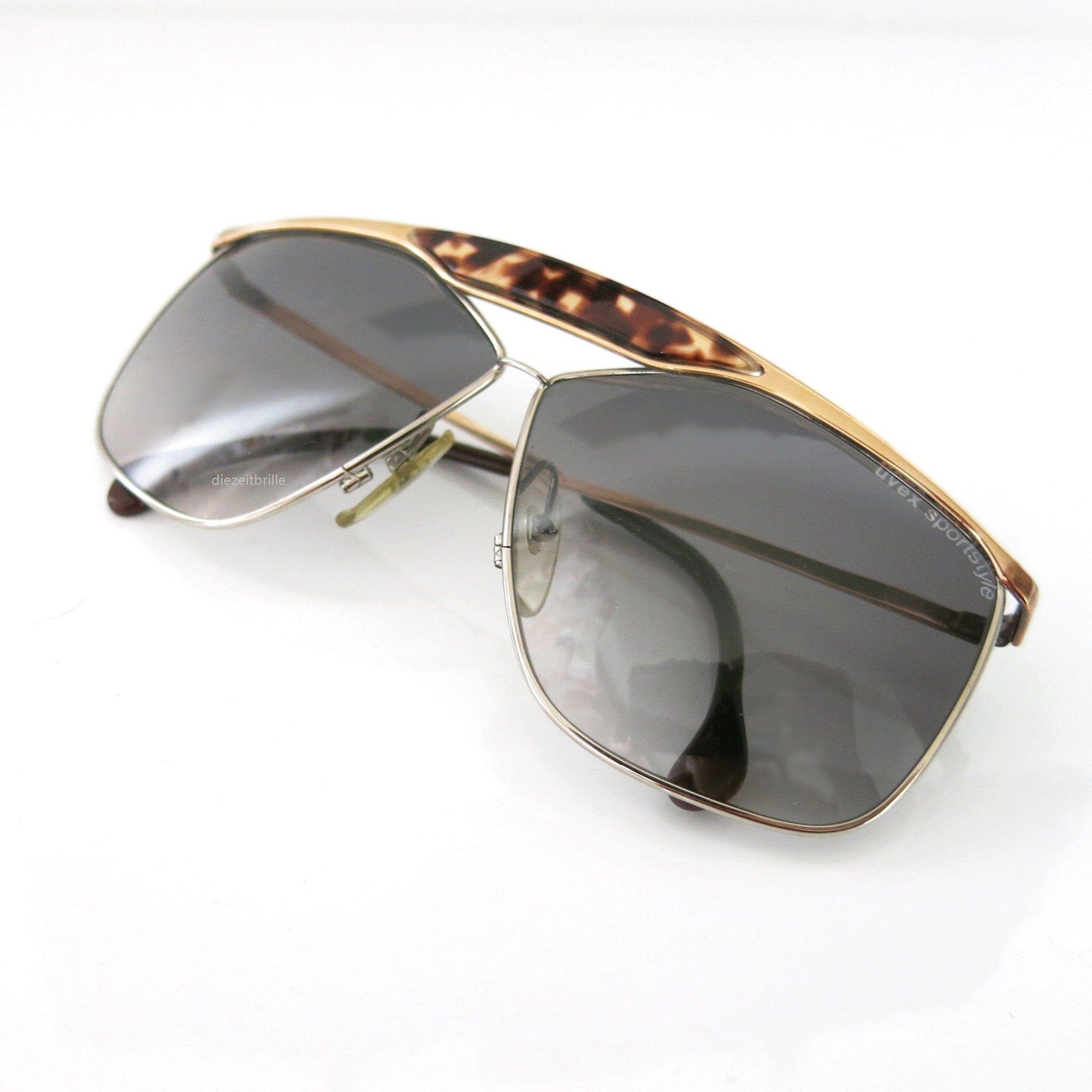 Vintage Uvex Sonnenbrille Sportstyle 80er Jahre Brillen Mode
