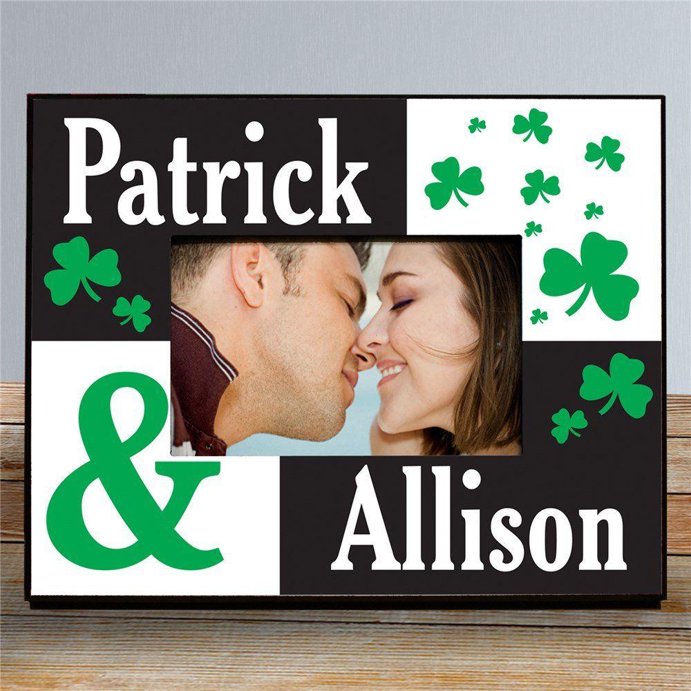 Personalized Irish Couple Printed Frame St Patrick S Day Decor