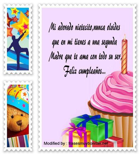 Frases De Cumpleaños Para Mi Nieto De 1 Año Frases