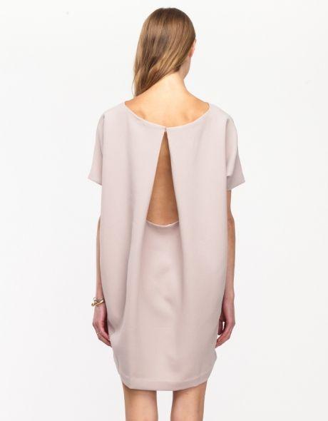 Angle Mini Dress in Cream