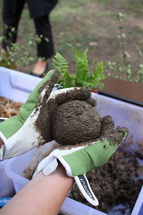 Kokedama é uma forma de plantar onde o vaso é o musgo e a própria ...