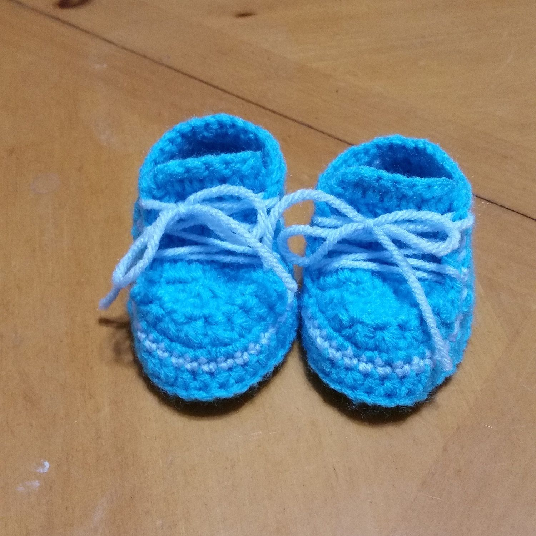 Zapatitos azules de Manualidadesydiseno en Etsy