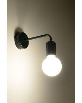 Kinkiet Lampa Scienna Sticks Metalowa Oprawa Molecular Czarna 24h Wall Lights Sconces Modern Interior Design