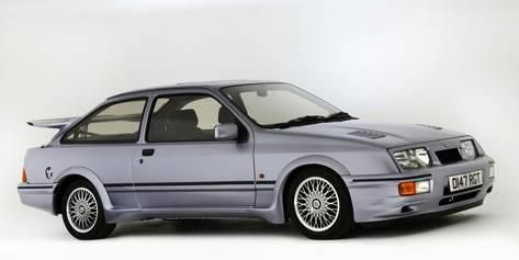 Photographic Print 1987 Ford Sierra Rs Cosworth 24x12in