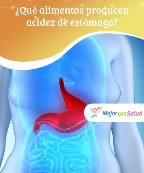 que alimentos producen el reflujo gastrico