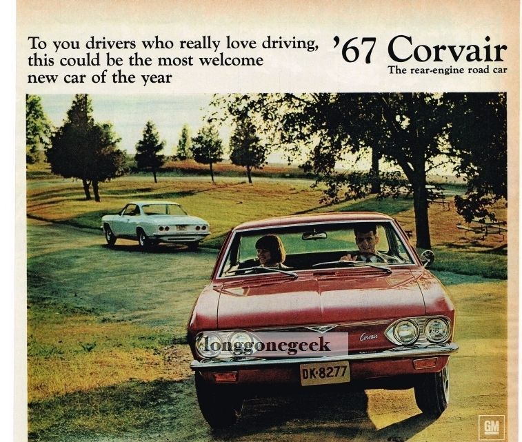 1967 Chevrolet Chevy Corvair 500 Red Sport Coupe Auto Car Vtg Print Ad Chevy Corvair Sports Coupe Car