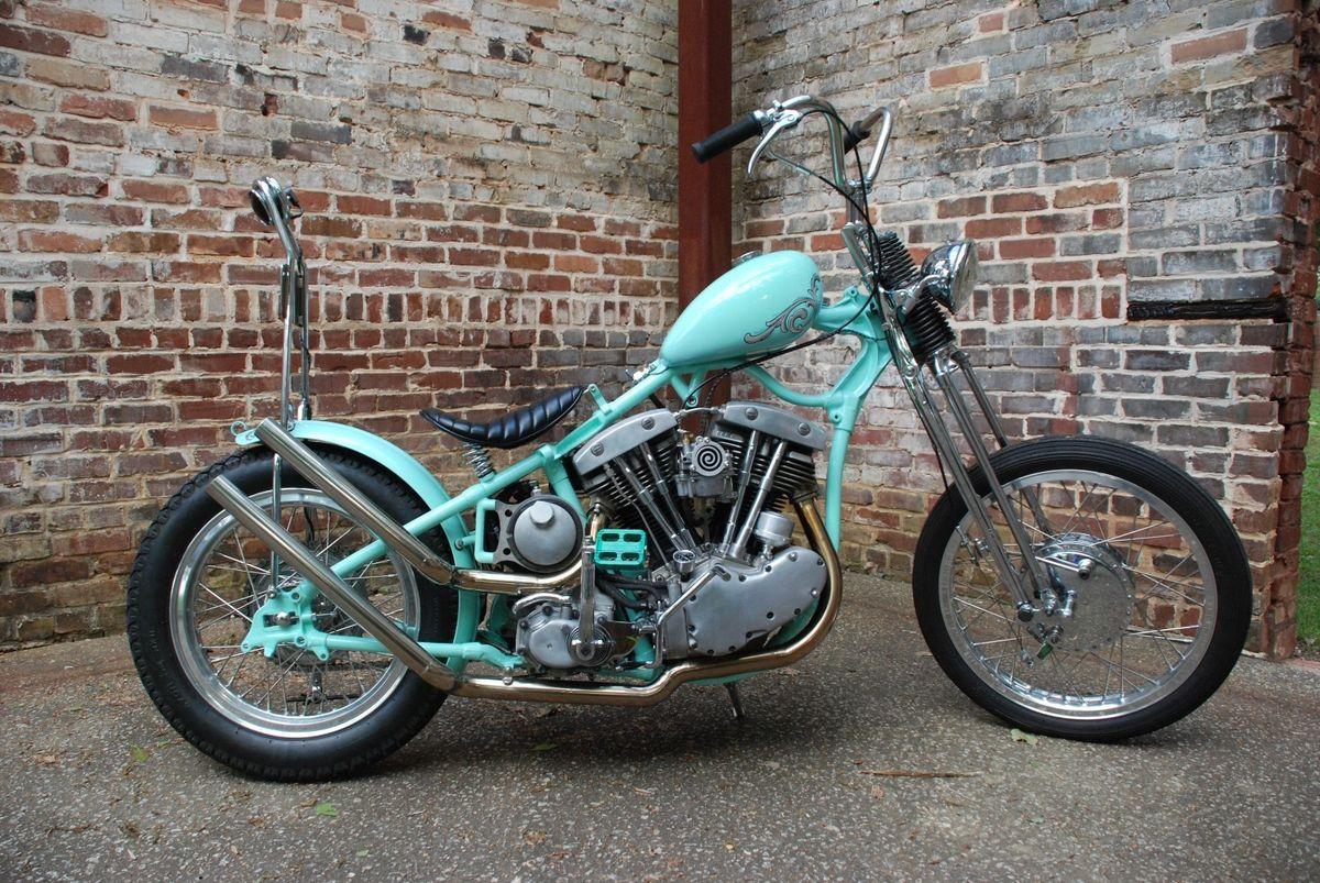 1966 Harley-Davidson VL Custom Chopper for sale via Rocker.co   Two ...