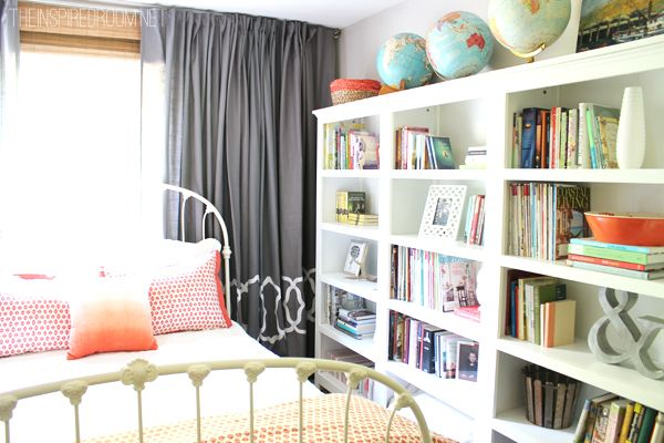 I Look Forward To The Day Have Bookshelves In My Bedroom So Can Display Books And Decorative Pieces Such Great Storage On These Shelves