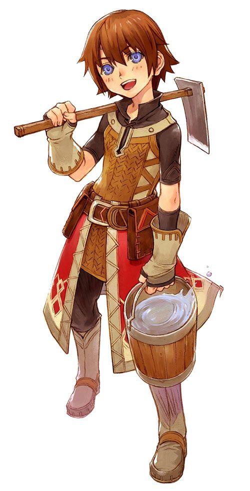 Rune factory frontier character