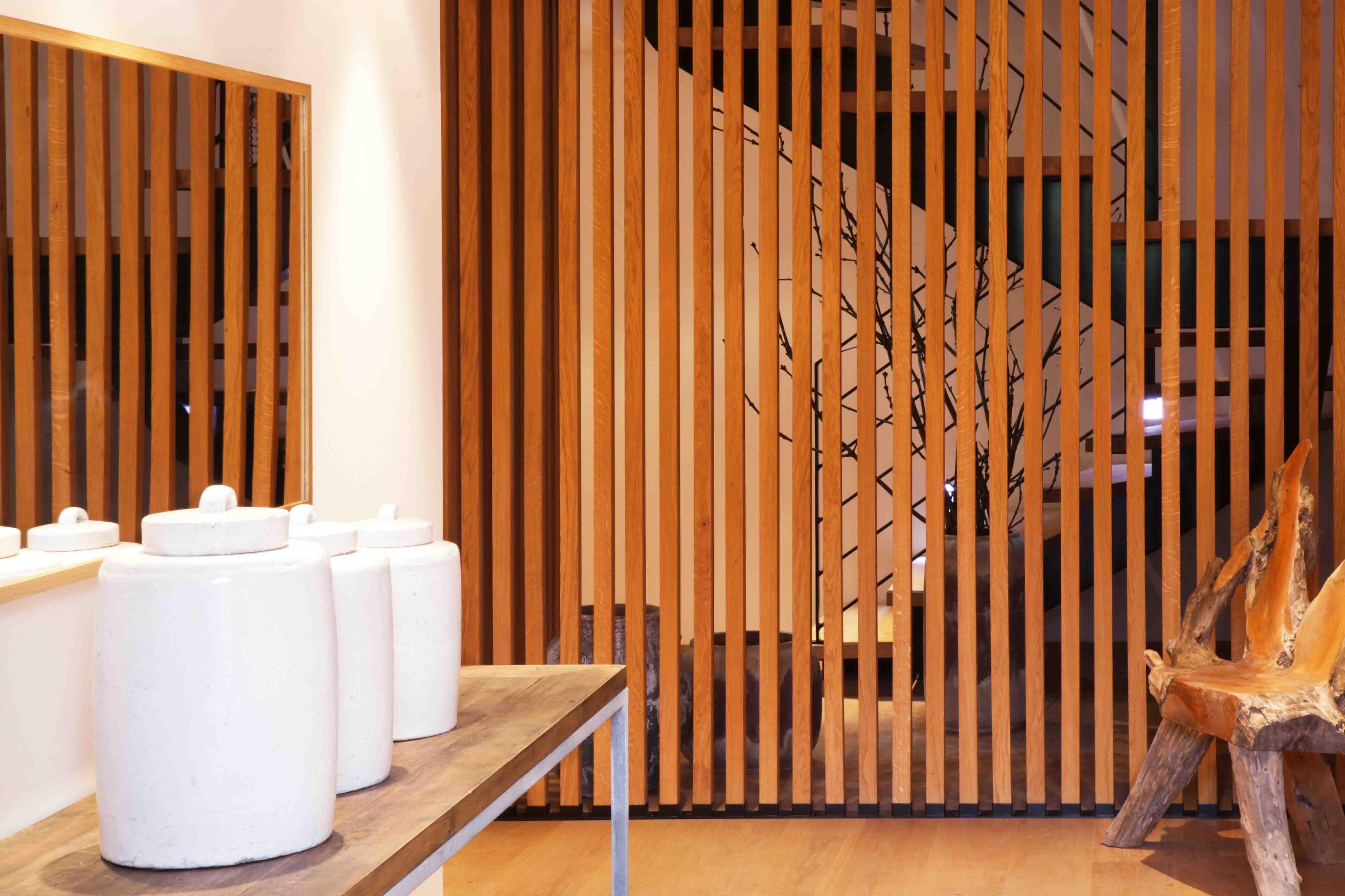 Bois, pierre et design