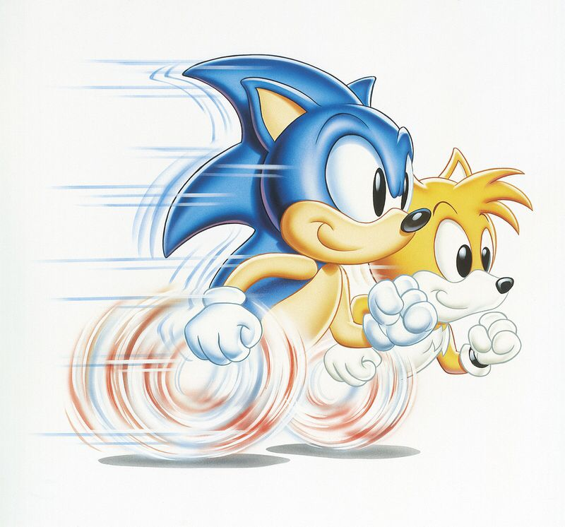 Running Tails Sonic Hedgehog Art Sonic The Hedgehog
