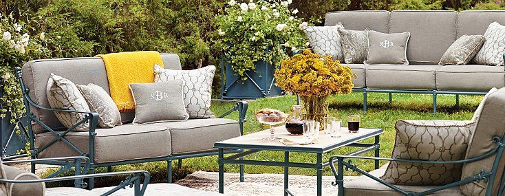 Outdoor Furniture Sets by Frontgate - Patio Furniture ... on Fine Living Patio Set id=98474