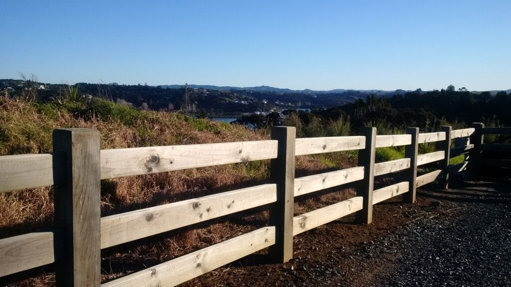 Post and Rail 3-Rail Fences - Boundaryline New Zealand in ...