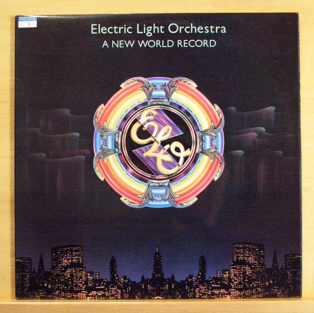 ELO ELECTRIC LIGHT ORCHESTRA - A new World Record - UK Vinyl LP OIS ...