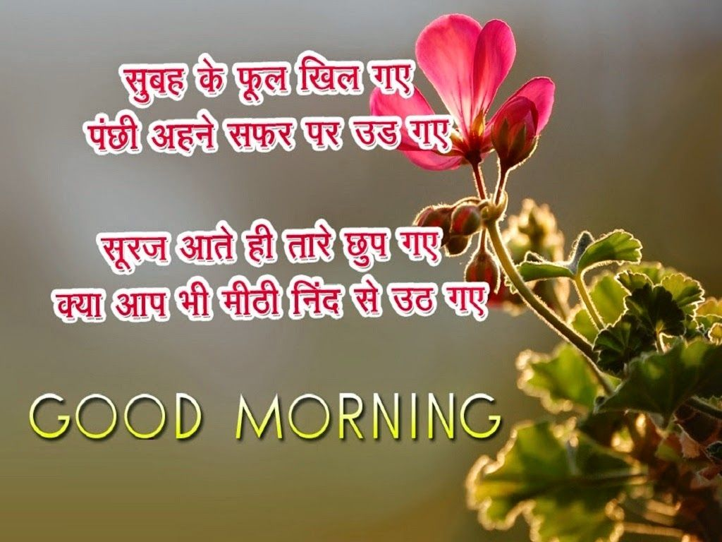 Good Morning Wishes In Hindi With Images Good Morning Wishes
