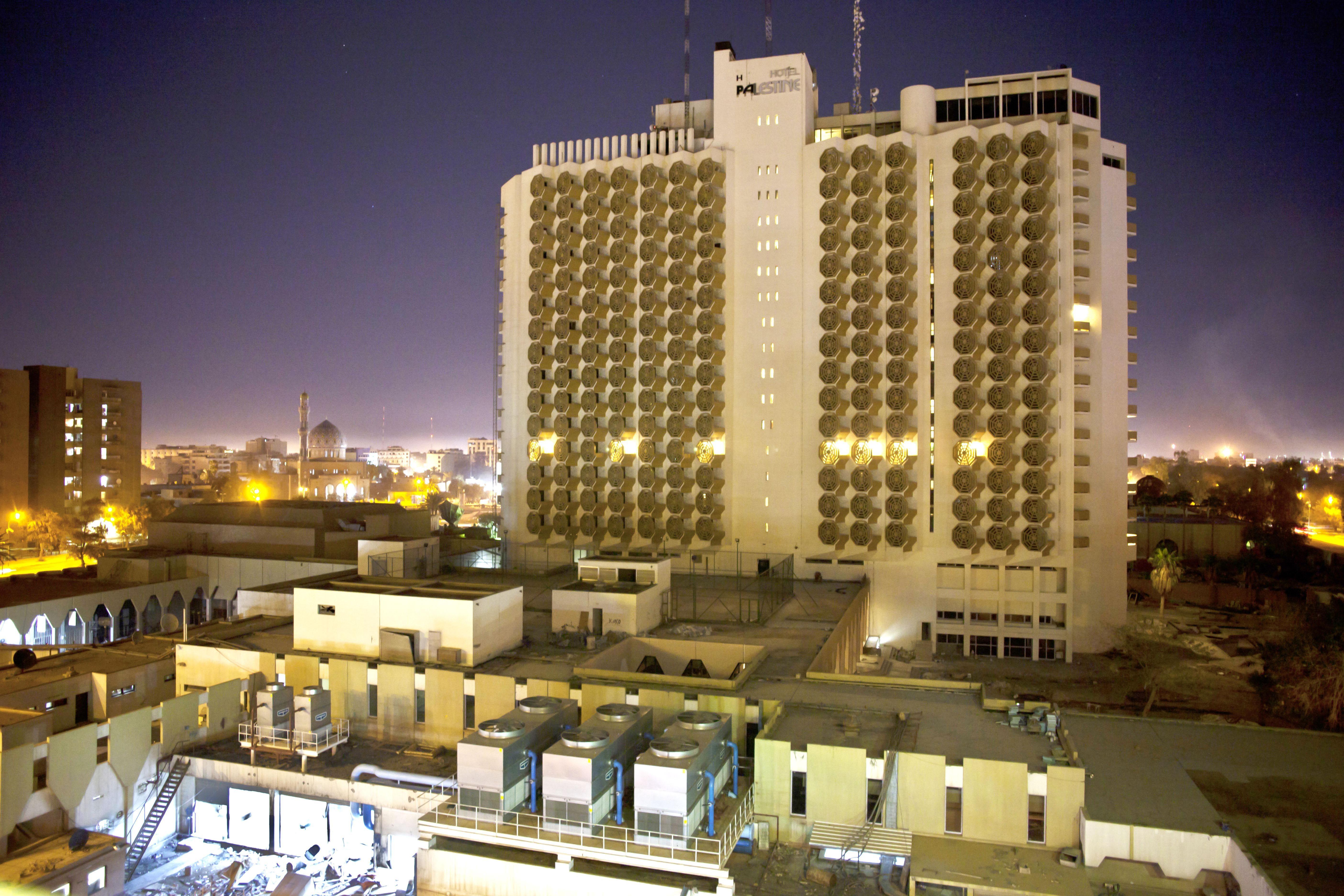 Palestine Hotel Baghdad فندق فلسطين بغداد Architecture Baghdad Iraq Baghdad