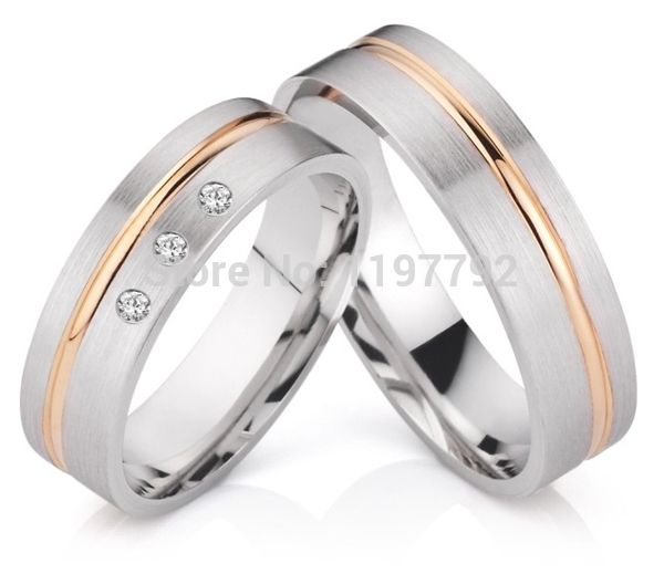 2014 Best Ebay Custom Tailor Made Wedding Engagement Ring His And Hers Sets Titan Traurin Mens Wedding Bands Platinum Wedding Bands For Her Wedding Ring Sets