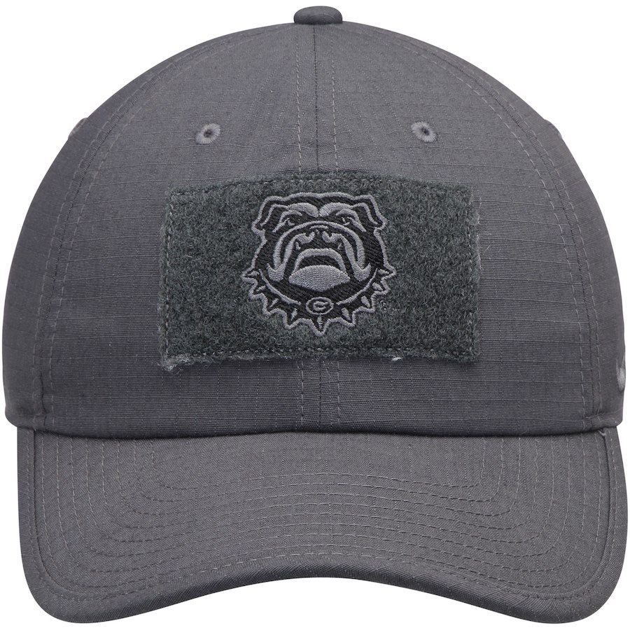 Nike Georgia Bulldogs Anthracite Tactical Heritage 86 Performance  Adjustable Hat 50251d7946c