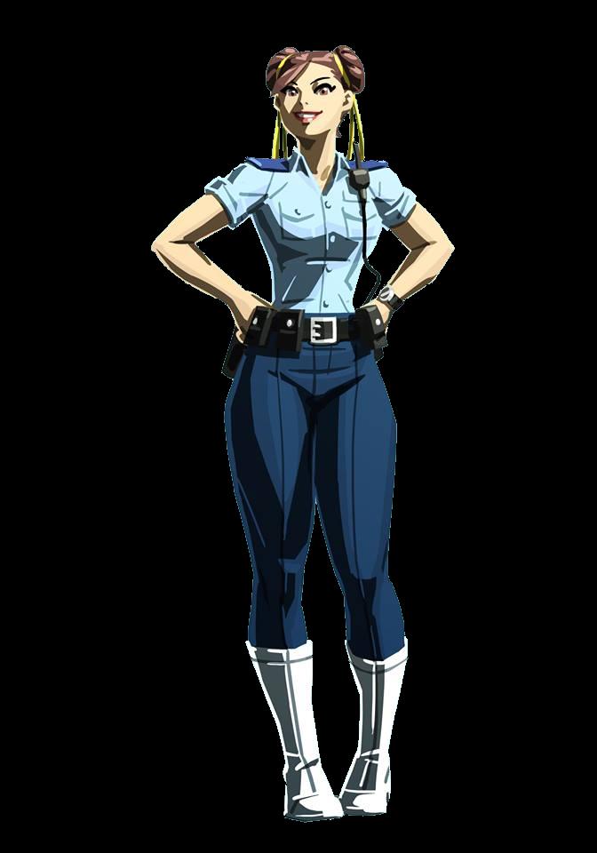 Chun Li Police Render By Jack Dev99 Chun Li Street Fighter Street Fighter Characters Street Fighter Anime