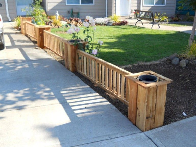 63+ Inspiring DIY Front Yard Privacy Fence Remodel Ideas ... on Front Yard Renovation Ideas id=14065