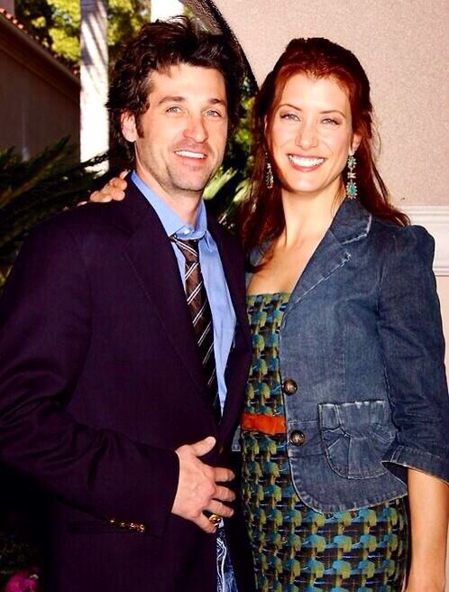 Kate Walsh With Patrick Dempsey Addison Greys Anatomy
