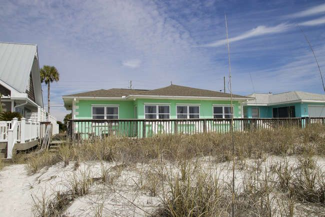 Panama City Beach Front House Rentals Sunspot Realty Beachfront House Panama City Beach Panama City Beach Vacation