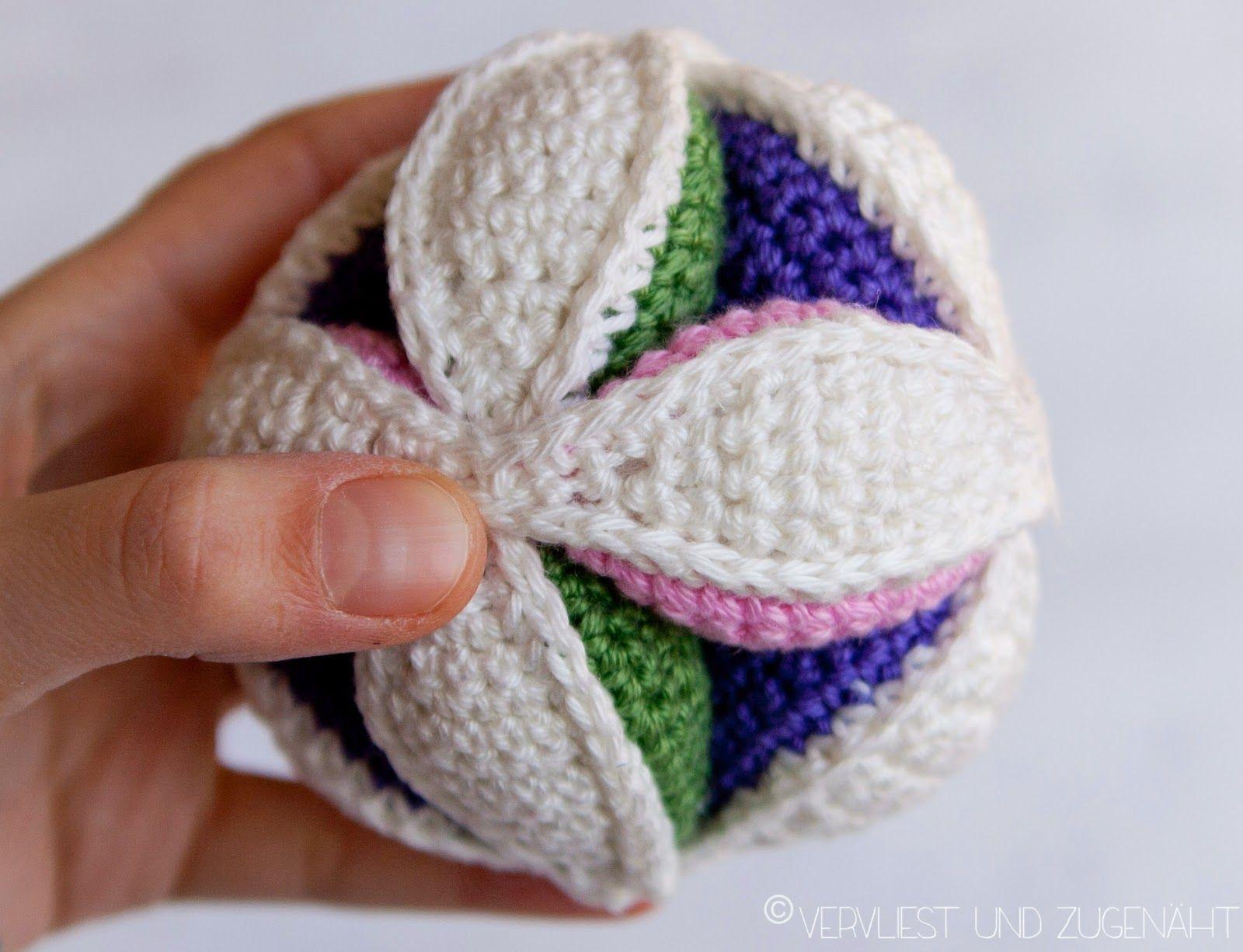 Amish Puzzle Ball Häkeln Pinterest Häkeln Stricken Und