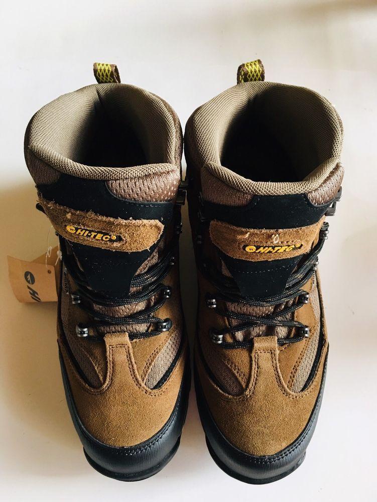 58990925c5b Hi-Tec Men's Skamania Mid Waterproof Hiking Boot Brown/Gold Size US ...